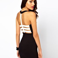 Dress With PU Back