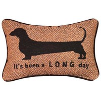 ITS BEEN A LONG DAY WORD PILLOW