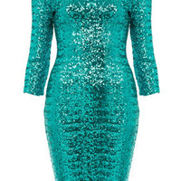 Disco Sequin Midi Dress - Dresses & Rompers - New In This Week  - New In