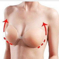 Self Adhesive Silicone Nu Color Backless Strapless Bra A