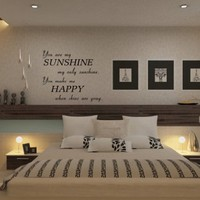 You Are My Sunshine Vinyl Wall Decal