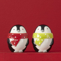 Chill Out Penguin Salt &amp; Pepper Shakers - The Afternoon