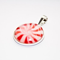 30 OFF SALE Holiday jewelry Peppermint Candy by ara133photography