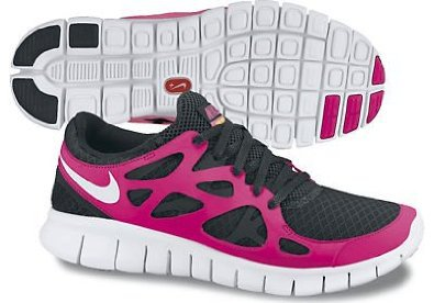 Nike Lady Free Run+ 2 Running Shoes