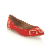 Everest Red Pointed Pump