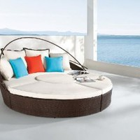 Dreamscrape - synthetic weaving chaise lounge S8013