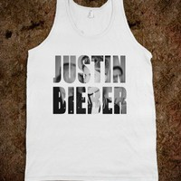 Justin Bieber tank