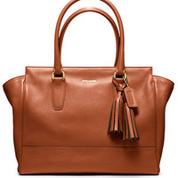 COACH LEGACY LEATHER MEDIUM CANDACE CARRYALL - COACH - Handbags &amp; Accessories - Macy&#x27;s