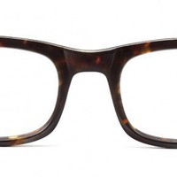 Huxley Whiskey Tortoise - Optical - Women | Warby Parker