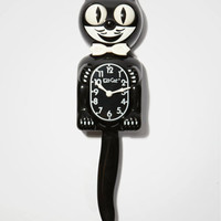 Kit Kat Clock | Classic Black Cat Clock | fredflare.com