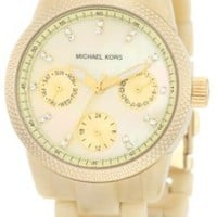 Michael Kors Mini Horn Acrylic Watch MK5400: Watches: Amazon.com