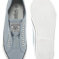 New Look Mexico Laceless Plimsolls at asos.com