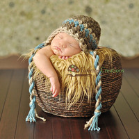Baby Boy Hat Newborn Baby Boy Crochet Hat in Barley by EcoStreet