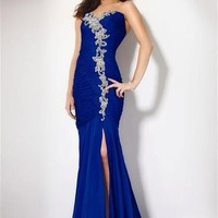 New Royal blue Mermaid Blue Evening Dress Prom dress Formal Gowns Ball Gown