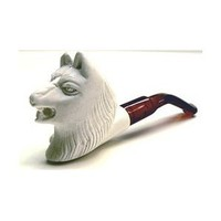 Amazon.com: Meerschaum Pipes- Mini Hand Finished Wolf: Everything Else