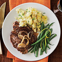 White Wine-Marinated Steak Recipe | MyRecipes.com