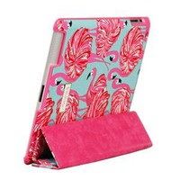 Amazon.com: Lilly Pulitzer iPad Case with Smart Cover - Gimme Some Leg: Cell Phones & Accessories