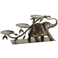 Mosaic Elephant Centerpiece