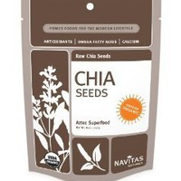 Navitas Naturals Chia Seeds, 16-Ounce Pouches: Amazon.com: Grocery & Gourmet Food