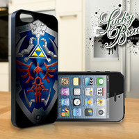 iPhone 5 Hard Case - Legend of Zelda Hylian Shield  - Phone Cover IP5