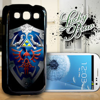 Samsung Galaxy S3 Hard Case - Zelda Inspired Hylian Shield - Phone Cover
