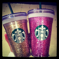 Glitter Starbucks Cold Cup