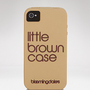 Bloomingdale&#x27;s iPhone 4 Case - Little Brown Case | Bloomingdale&#x27;s
