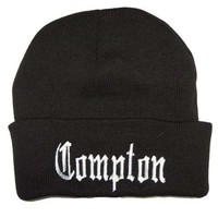City Compton Easy E Los Angeles Beanie