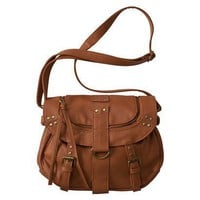 Bruges Flap Crossbody Handbag - Cognac : Target