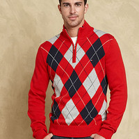 Tommy Hilfiger Sweater, Hardwick Argyle Sweater - Mens Sweaters - Macy's