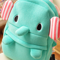 San-x Sentimental Circus Elephant Backpack Bookbag School Bag 16""