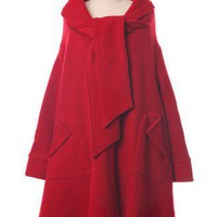 Little Red Riding Hood Trench Cape Coat - Retro, Indie and Unique Fashion