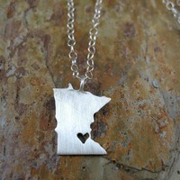 Any State Love Necklace