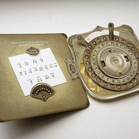 Secret Custom Message Decoder Card by crankbunny on Etsy