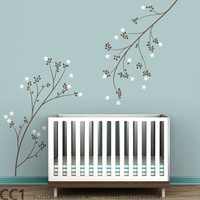 Wall Decal Blossom Branches by LeoLittleLion on Etsy