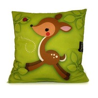 FREE SHIPPING  Deluxe Pillow  Woodland Fawn by mymimi on Etsy