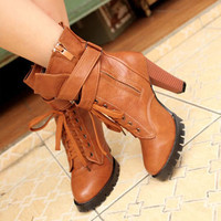 Brown Ladies Outdoor Pumps Wholesale Online  : Wholesaleclothing4u.com