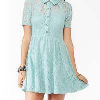 Embroidered Lace Shirtdress | FOREVER21 - 2025100888