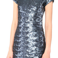 Nixie Anthracite Dress | Black Milk Clothing
