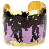 ?VOCATEUR On Trend Beatles Purple Cuff Bracelet - designer shoes, handbags, jewelry, watches, and fashion accessories | endless.com