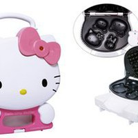 Amazon.com: Hello Kitty Waffle Maker Iron: Kitchen &amp; Dining