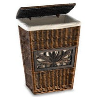 LaMont Carved Willow Hamper - Bed Bath & Beyond