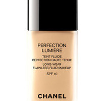 CHANEL PERFECTION LUMIRE LONG-WEAR FLAWLESS FLUID MAKEUP SPF 10 | Nordstrom