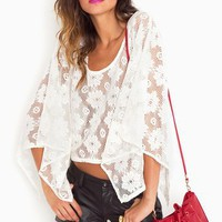 Daisy Crochet Top in  Clothes at Nasty Gal