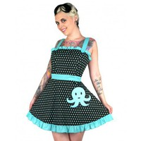 Octopus Asheville Apron Dress by Too Fast
