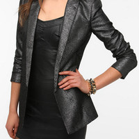 Silence &amp; Noise Slim Lapel Blazer