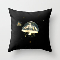 Float On Throw Pillow by RichCaspian | Society6