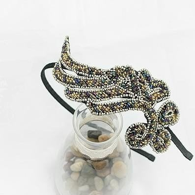 $2.39 Elegant Bead String Cloth Vine Headband at www.gofavor.com