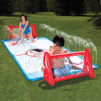 The Water Soaked Knee Hockey Rink - Hammacher Schlemmer