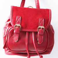 Red Hots Backpack - $67.00 : ThreadSence, Women's Indie & Bohemian Clothing, Dresses, & Accessories